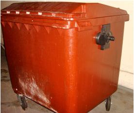 Container da Central de Compostagem